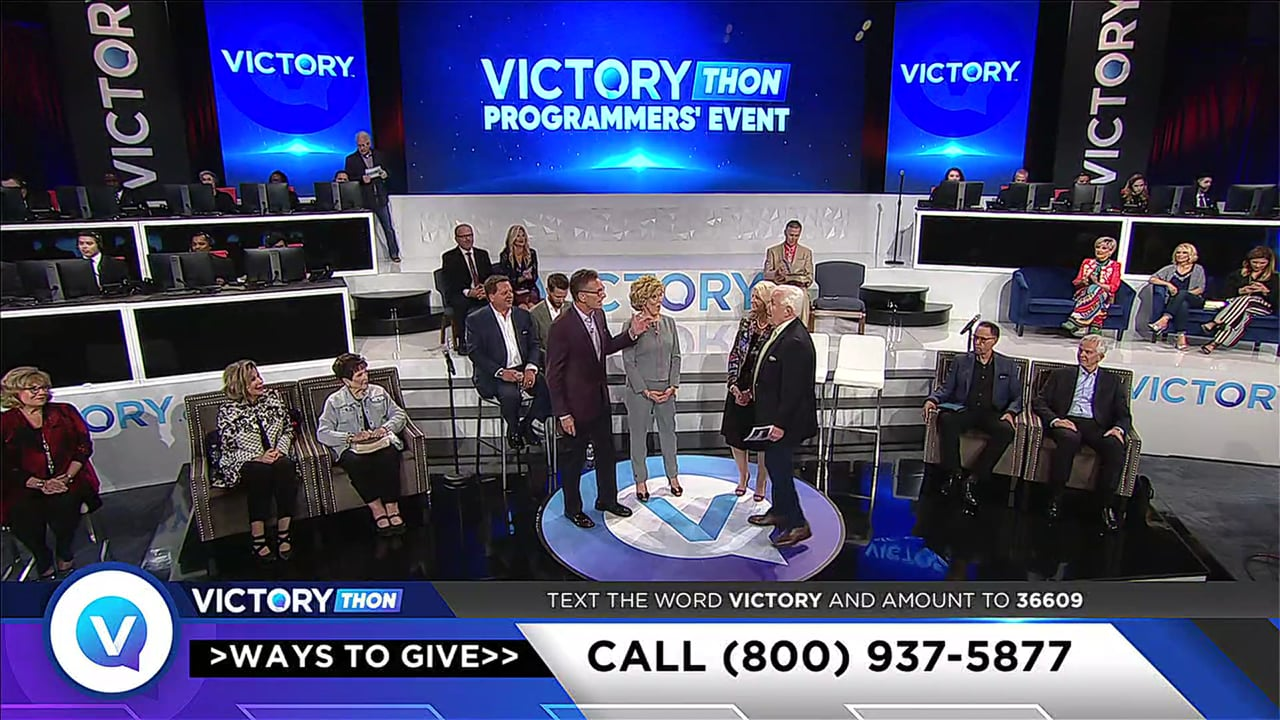 Catch the vision of VICTORY Channel during this fifth session of the 2019 VICTORYthon Programmers' Event with host Jesse Duplantis! Be encouraged by your favorite VICTORY ministers, and hear how God is using VICTORY to touch the lives of people all over the world.