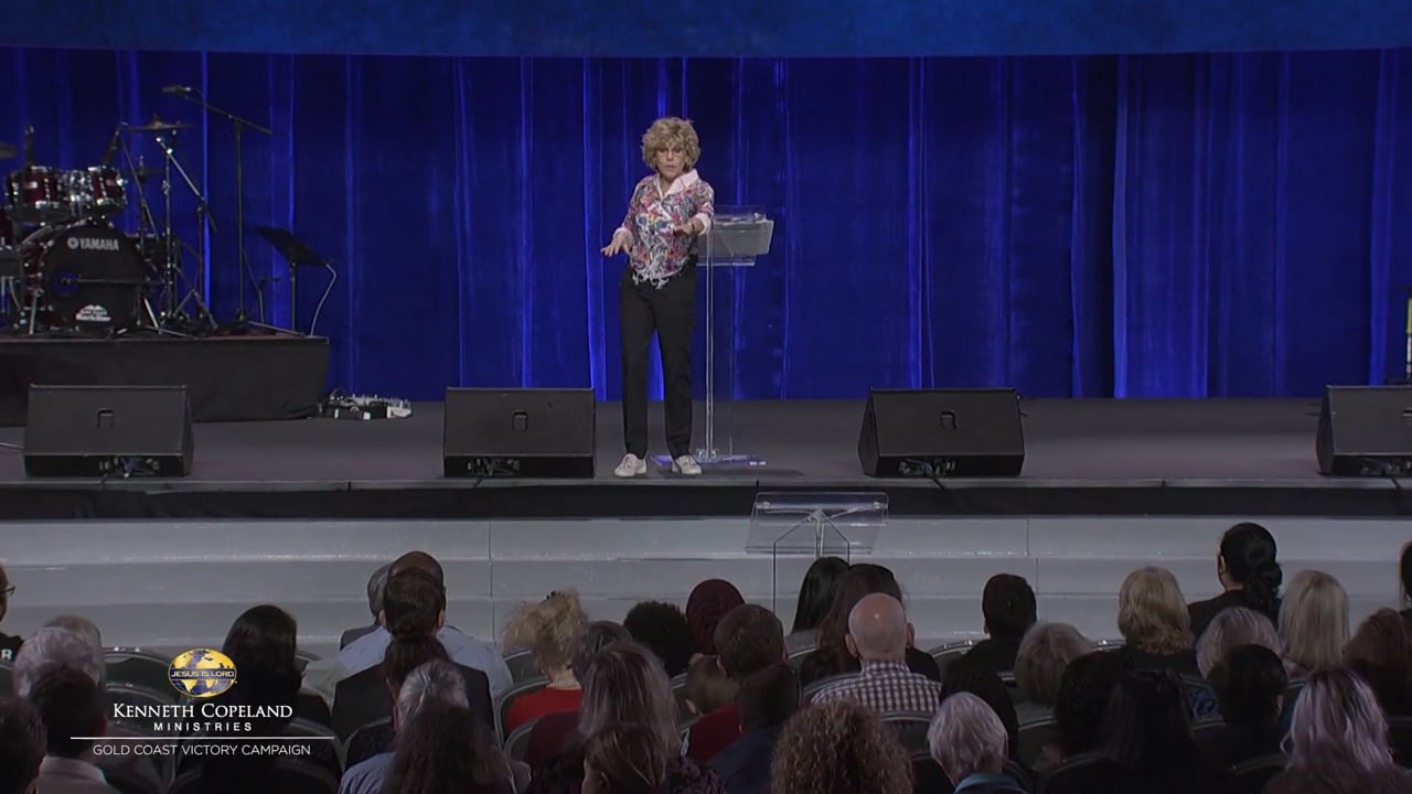 At the 2019 Gold Coast Victory Campaign, Terri Copeland Pearsons outlines what the true spirit of agreement looks like in corporate prayer. Learn how to follow Him. We have Father, Son, Holy Spirit, the Word, the blood and angels! What more do we need? We have an anointing in us and we know the Truth!
