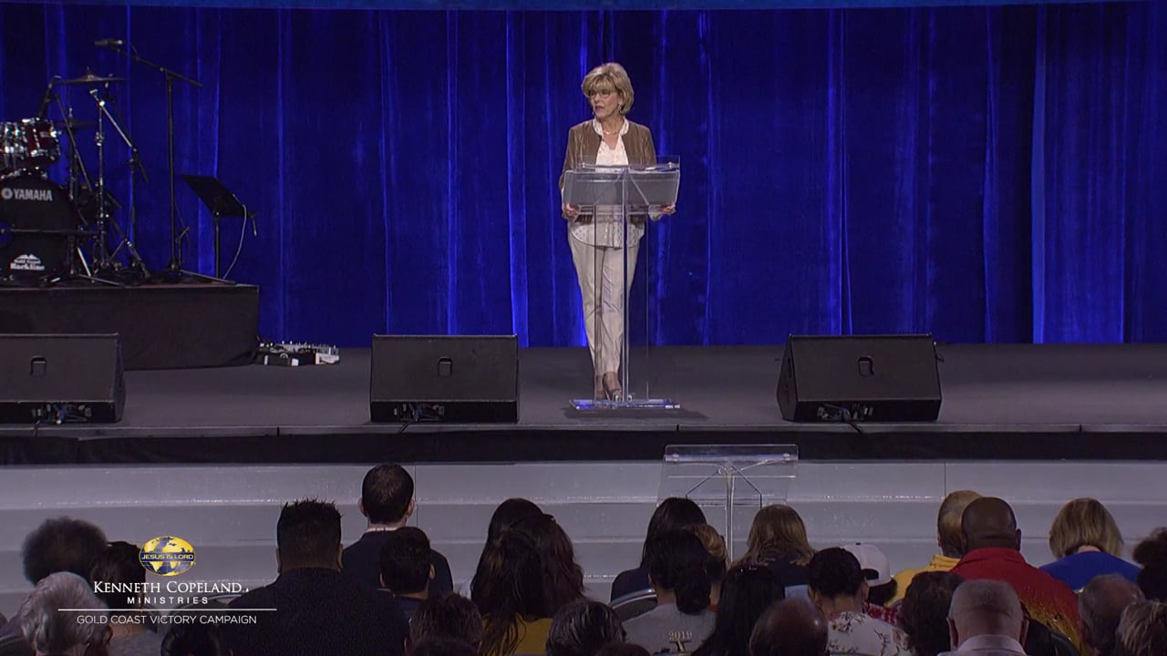 """When we follow each other in the Spirit during prayer, it's not about mental agreement. Hear Terri Copeland Pearsons at the 2019 Gold Coast Victory Campaign as she shares how to flow in faith and be in a """"place"""" of agreement with one another in prayer. Join the corporate worship and the sound of unity."""