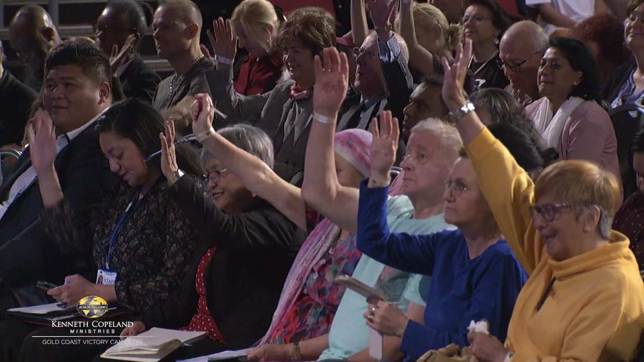 Hear Kenneth Copeland share how God supernaturally directs our steps. Listen to Jerry Savelle's healing testimony at the 2019 Gold Coast Victory Campaign.