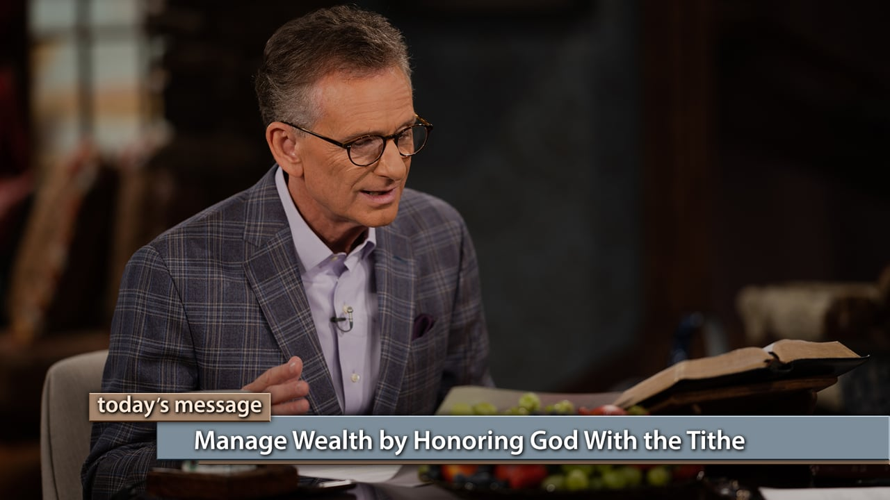 Tithing is a shield to keep you protected from the sin of loving money. Watch Gloria Copeland and George Pearsons on Believer's Voice of Victory as they share how the proper way to manage wealth is by honoring God with the tithe. It keeps you safe from trusting money, and keeps you protected from those things that would devour your wealth.
