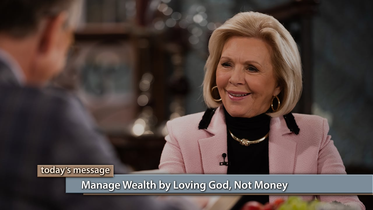 Got wealth? Join Gloria Copeland and George Pearsons on Believer's Voice of Victory as they teach you why God wants you to be blessed in the area of finances. However, He has character standards that must be met. Learn how to manage wealth by loving God, not money, in order to guard yourself from sin.