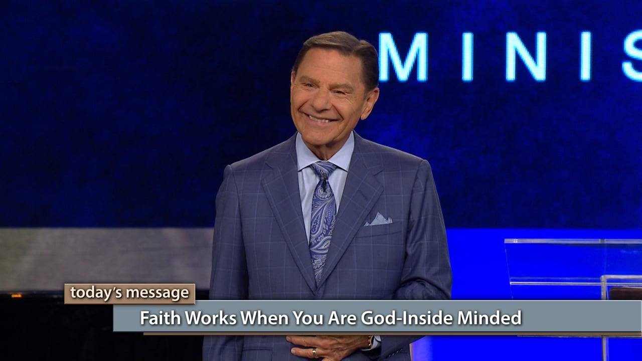 The results of faith are up to you! Join Kenneth Copeland on Believer's Voice of Victory as he teaches you how faith works and how it doesn't. Learn how faith works when you are God-inside minded and how to hold on to the power already at work in you to see the victory!