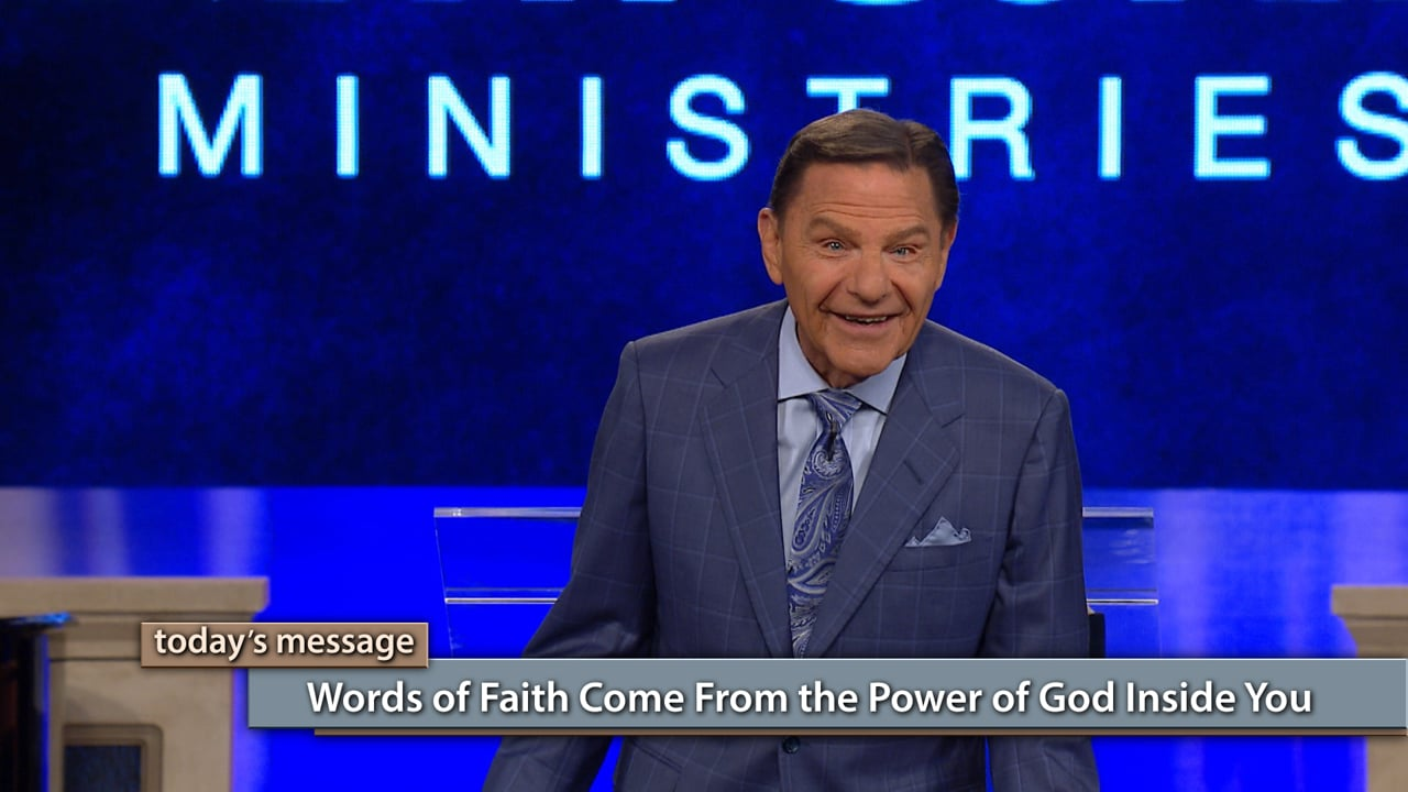 Do your words match God's? Watch Kenneth Copeland on Believer's Voice of Victory as he teaches you the importance of allowing God's words to become yours to achieve the life you've always dreamed of. Learn why words of faith come from the power of God inside you, and how you can tap into that power today!