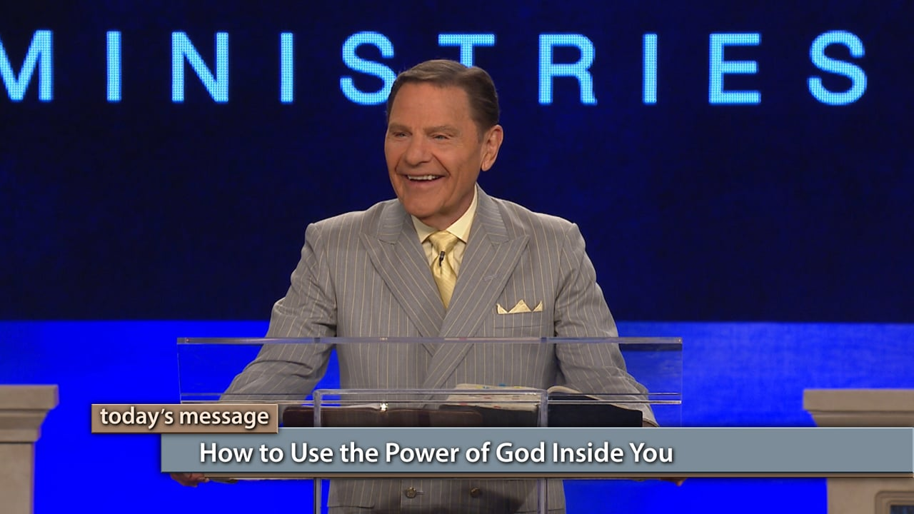 Your power comes from living an inside-out life! Watch Believer's Voice of Victory as Kenneth Copeland teaches you to take the power of God residing in you and use it to the fullest. Everything you need is on the inside—not the outside. It's time to use it!