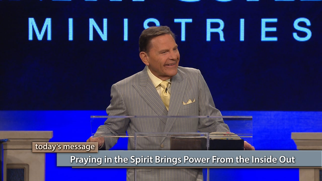 Have a problem? Attack it with tongues! Watch Believer's Voice of Victory as Kenneth Copeland shares how you become an instrument of the Spirit of God when you pray in tongues. You have access to the unending power of God—praying in the spirit brings power from the inside out!