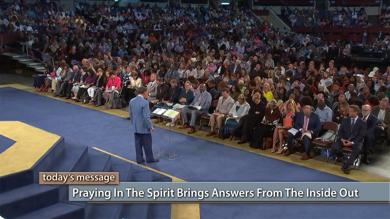 The answer to your problem is already inside you! Watch Kenneth Copeland on Believer's Voice of Victory as he teaches you how to access the wisdom of God for supernatural results. Learn why praying in the spirit brings answers from the inside out!