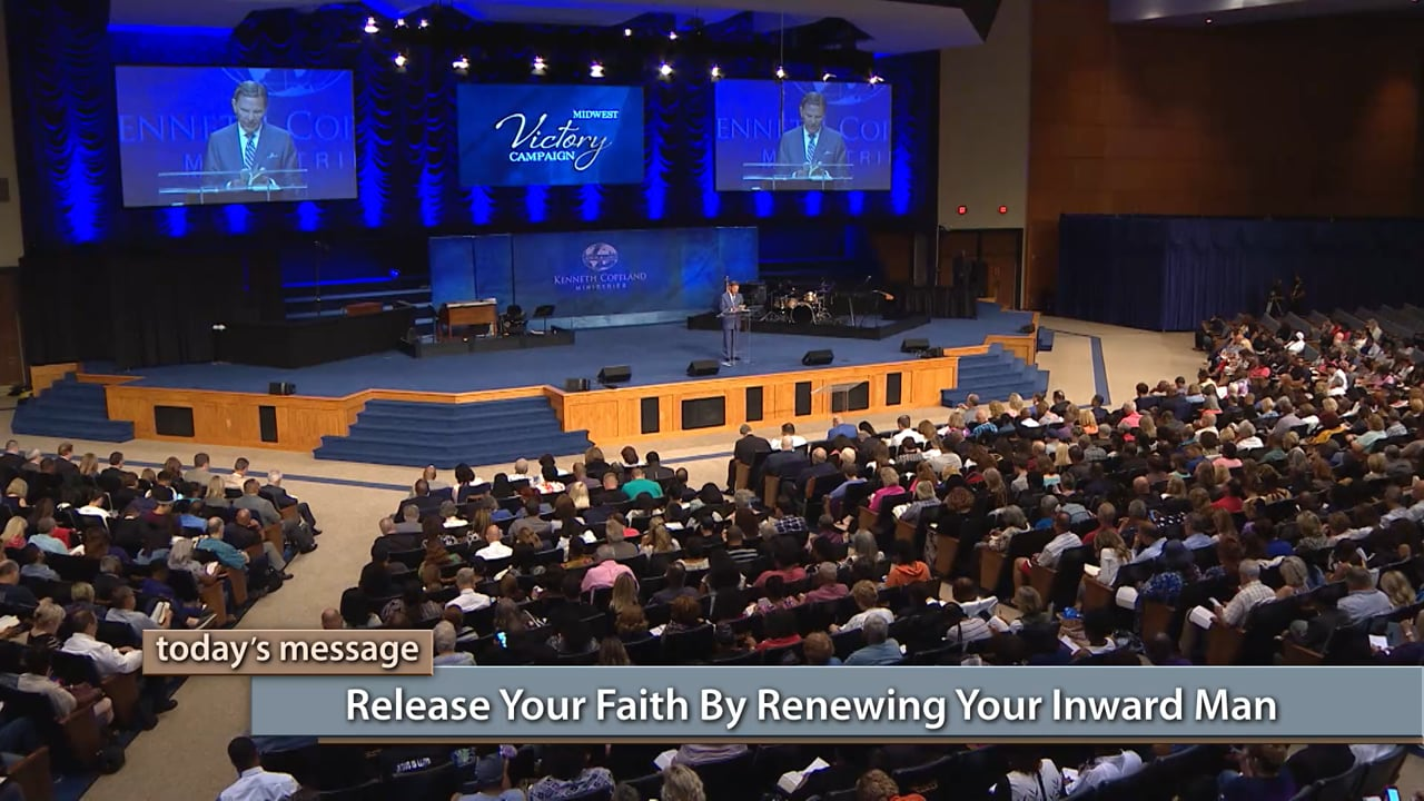 No WORD, no faith! Watch Kenneth Copeland on Believer's Voice of Victory as he shares how filling up on The WORD of God will dramatically change the way you stand for finances, healing or relationships. Learn how to release your faith by renewing your inward man, and receive everything God has for you!