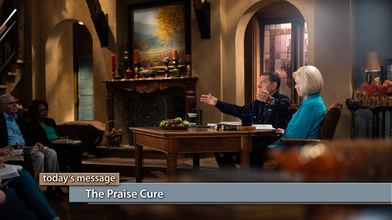 Facing a trial? There is a cure! Join Kenneth and Gloria Copeland on Believer's Voice of Victory as they teach you how gratitude and praise will cure any situation! Learn how to avoid complaining and griping, by making thanksgiving the first words out of your mouth. While you're busy thanking God, your situation will change. That's the praise cure!