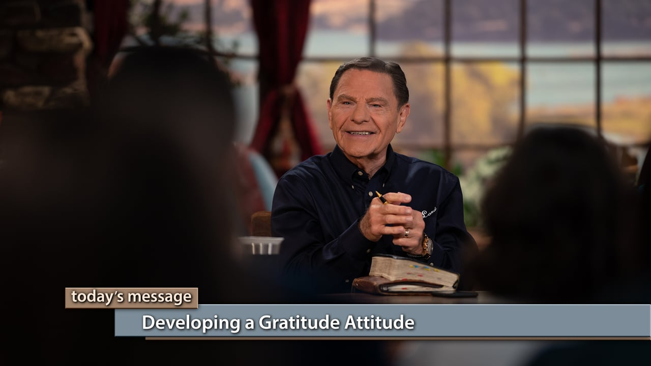 Do you default to complaining or gratitude? Watch Kenneth and Gloria Copeland on Believer's Voice of Victory as they teach you how to get the desires of your heart through developing a gratitude attitude. You already have all things in Christ Jesus—praise will bring them to you. If you're stuck in a trial, gratitude is your ticket out!