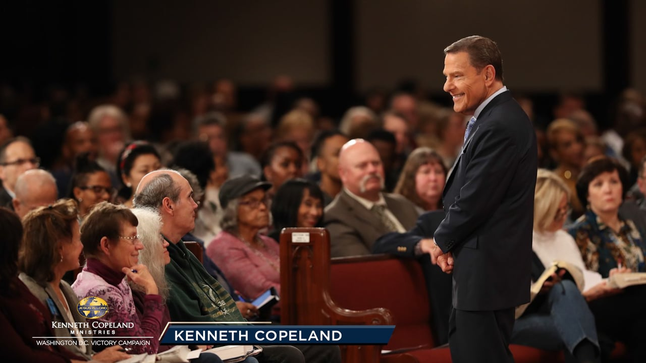 People who live by faith never have to change their lifestyle because of the times. At the 2019 Washington, D.C. Victory Campaign, Kenneth Copeland teaches how it has always been God's plan to be our Source. It is also His will that there be no poor or sick among us. God always has our best in mind!