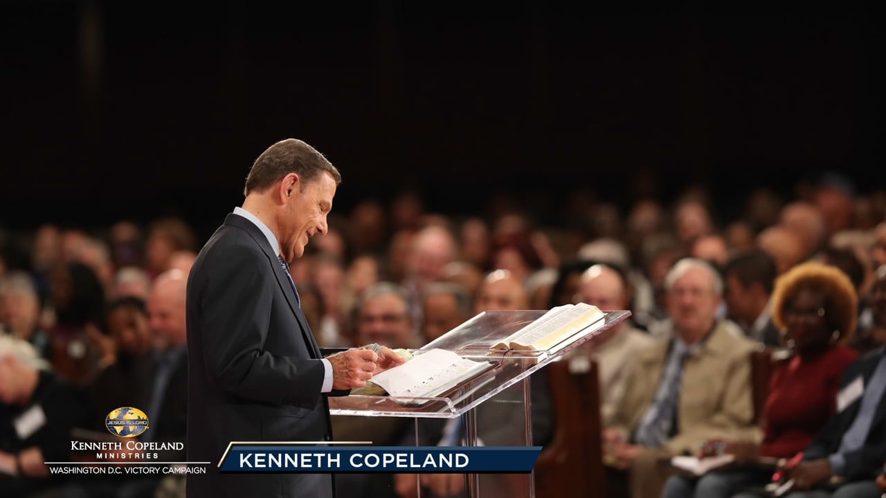 "Everything with God is based on covenant. At the 2019 Washington, D.C. Victory Campaign, Kenneth Copeland shares the reason for covenant and how we have the covenant-keeping God living in us now, planning our lives. Learn how to ""consider Him"" in the face of debt, sickness and all of life's struggles."