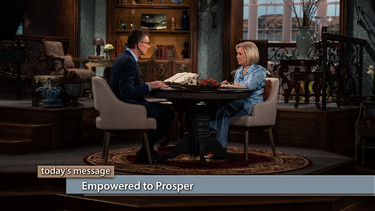 Join Gloria Copeland and George Pearsons on Believer's Voice of Victory as they teach you how to find a world of abundance like you've never experienced before. Learn why THE BLESSING of The LORD causes us to be empowered to prosper. Then, find out the big key to opening the door to the Garden-of-Eden life.