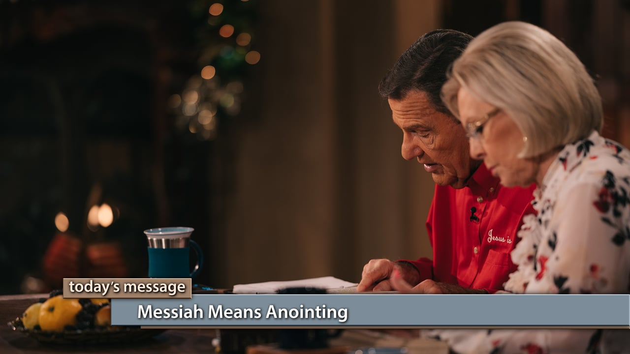 Christmas wasn't just the arrival of Jesus—it was the arrival of the anointing! Watch Kenneth and Gloria Copeland on Believer's Voice of Victory as they teach you how Messiah is the Hebrew word for anointing and why when Jesus came, so did the anointing!