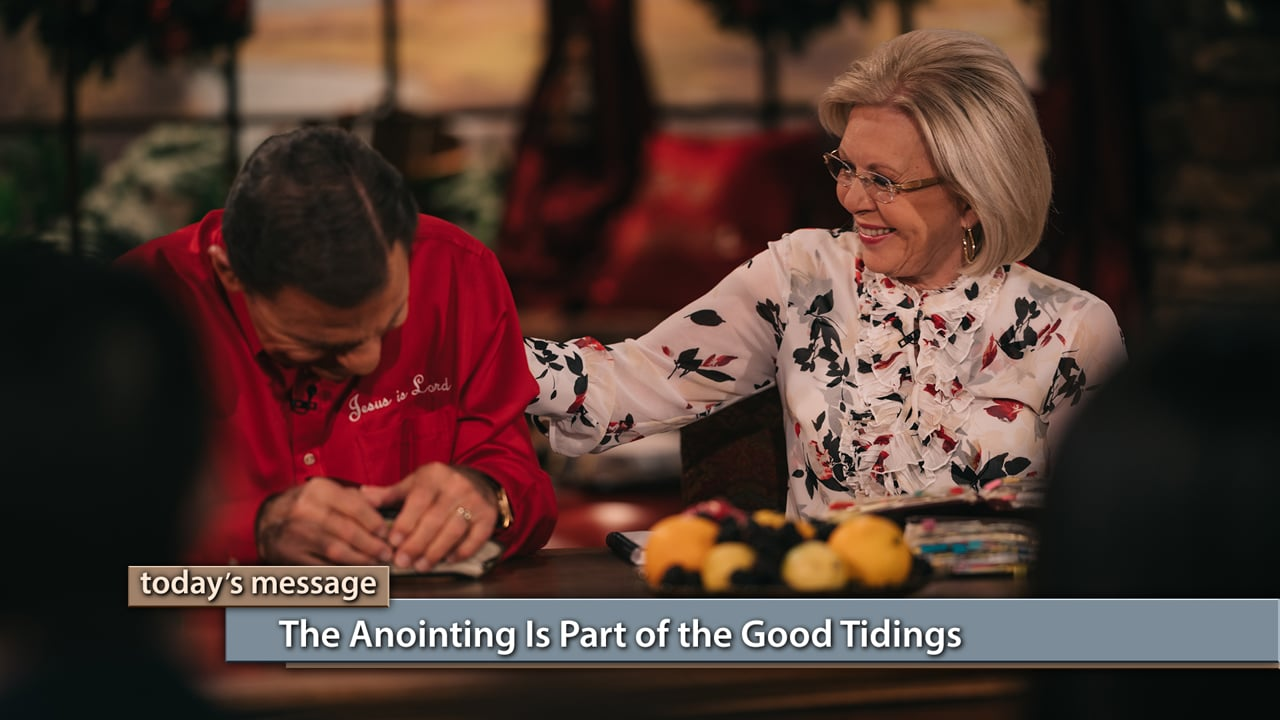 Merry Christmas! Join Kenneth and Gloria Copeland on Believer's Voice of Victory as they explain why everything we need comes through the anointing that came when Jesus was born on the earth. Learn why the anointing is part of the good tidings the angels brought to earth, and what Jesus' birth really meant for all mankind.