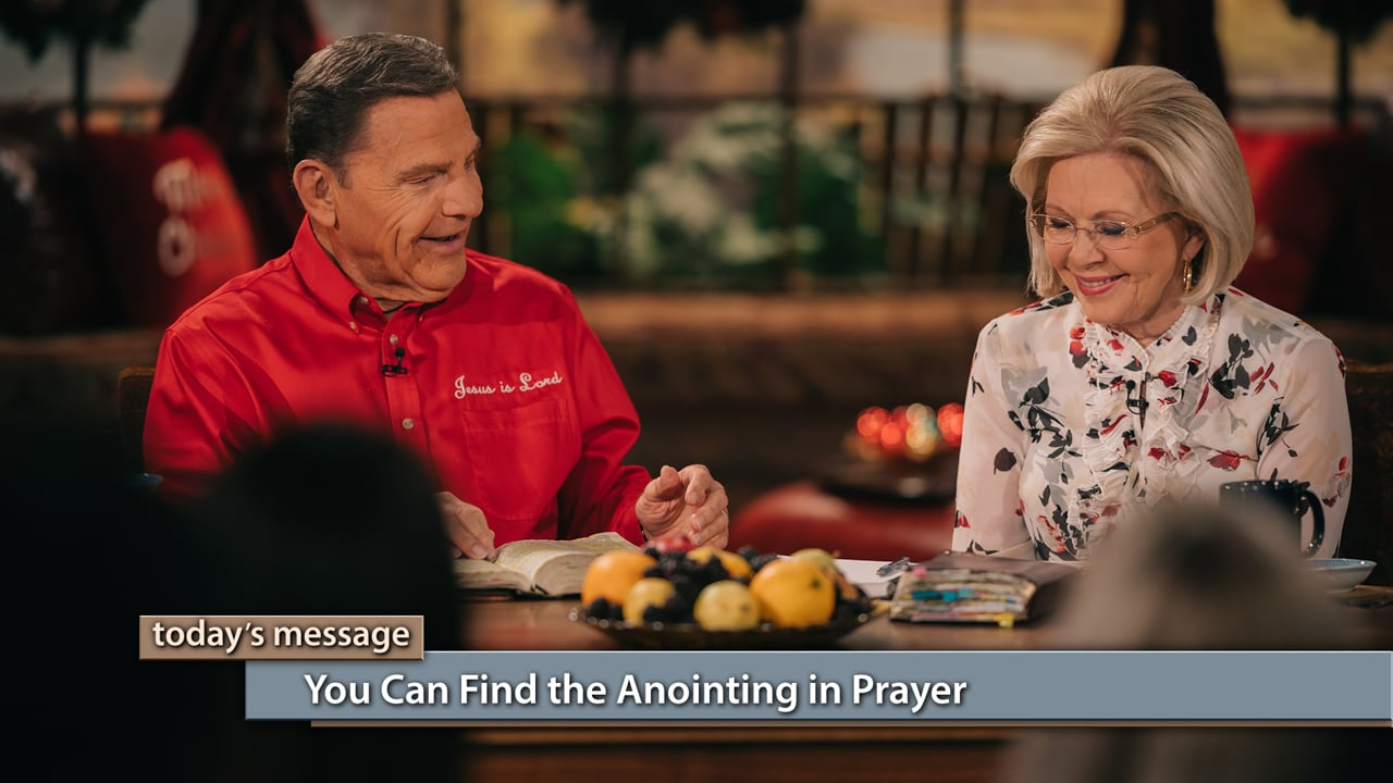 Intercessors saw Jesus before He came to the earth! Watch Believer's Voice of Victory as Kenneth and Gloria Copeland share the importance of commitment to prayer and intercession, and how those who take time to pray will have special access to powerful revelation. You can find the anointing in prayer!