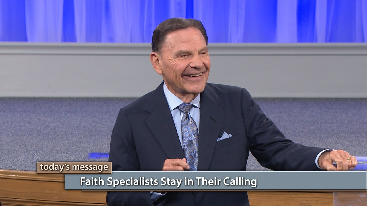 Are you operating in your true calling? Join Kenneth Copeland on Believer's Voice of Victory as he teaches you why faith specialists stay in their calling and are careful not to venture out into something else. Learn the power you have in Christ when you find out what your calling is and stay in it. The streams of God's Anointing are merging together within the Body of Christ!