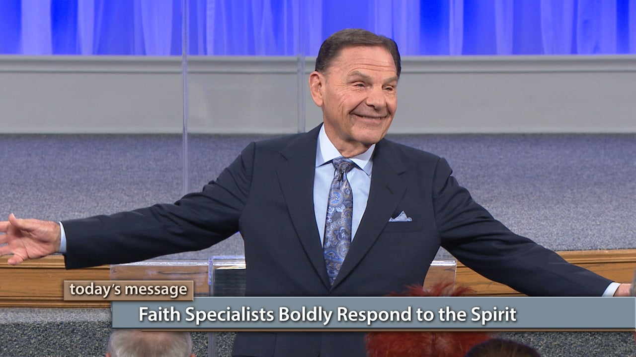 Are you timid when it comes to your faith? Watch Kenneth Copeland on Believer's Voice of Victory as he explains why faith specialists boldly respond to the Spirit. Learn what it means to step out in boldness and fully operate in the gifts of the Holy Spirit. Watch and be on your way to becoming a faith specialist!