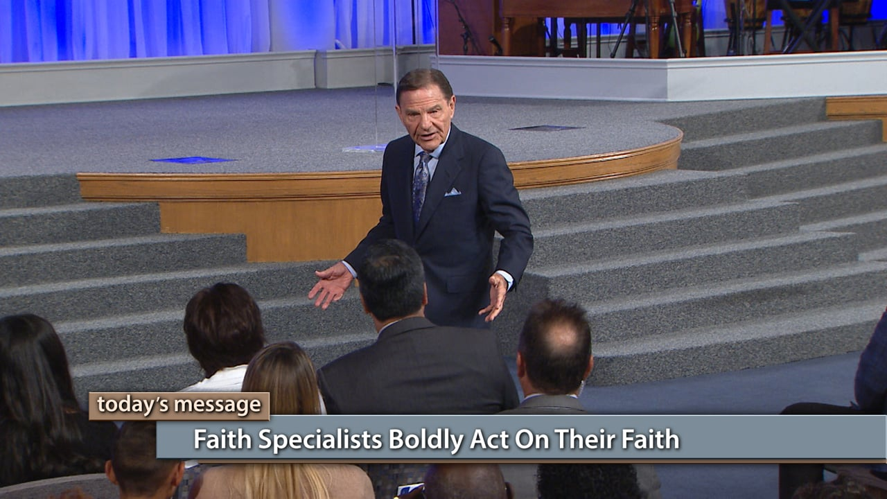 Faith doesn't walk on eggshells! Join Kenneth Copeland on Believer's Voice of Victory as he explains why faith specialists boldly act on their faith, and they see the fruit of manifestation as a result. Then receive a timely word from The LORD as Kenneth Copeland encourages you to go upward to the high ground in God!