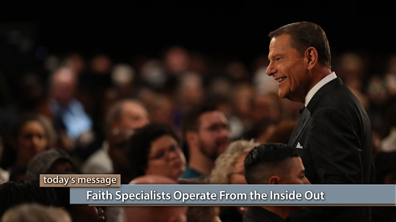 If you're serious about becoming a faith specialist, you need to know where to find power. Watch Believer's Voice of Victory as Kenneth Copeland shares why faith specialists operate from the inside out—knowing their power comes from the Spirit of God living inside them. The answer to every problem is inside you!