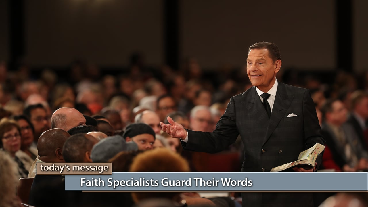 When it comes to your words, are you a specialist or an amateur? Watch Believer's Voice of Victory as Kenneth Copeland teaches you why faith specialists guard their words to live victoriously in every situation. Learn how becoming a faith specialist will help you see supernatural results!