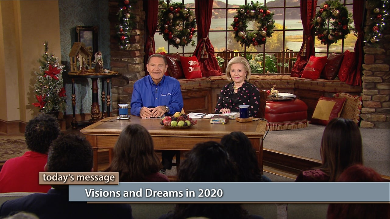 If you've never experienced visions and dreams from The LORD, this may be your year! Join Kenneth and Gloria Copeland on Believer's Voice of Victory as they share about the expectation of greater manifestations of visions and dreams in 2020. The power of the Holy Spirit is alive and active in this new year!