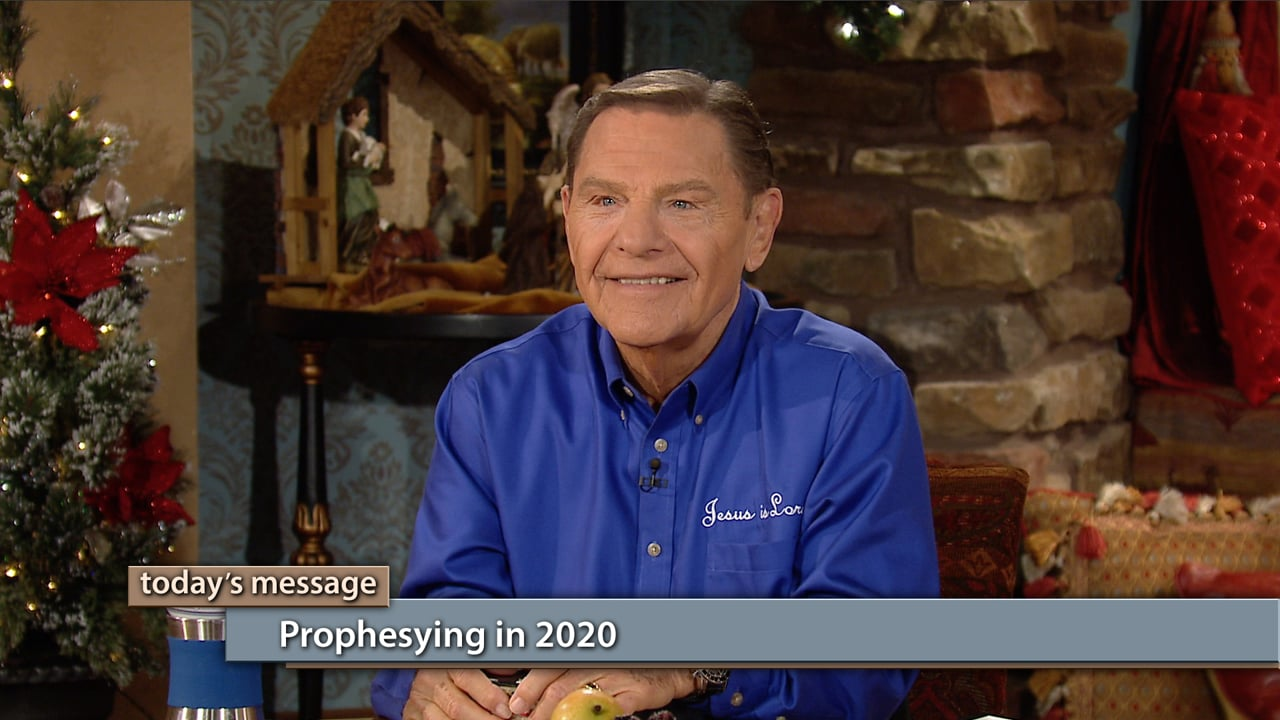 Watch Kenneth and Gloria Copeland on Believer's Voice of Victory as they share why you can expect to see more prophesying in 2020, not only from prophets, but from born-again believers who pursue Him in prayer. Learn how we have the same anointing on our minds that Jesus had when He was ministering on the earth. It's time for a doubling of the manifestations of God in 2020!