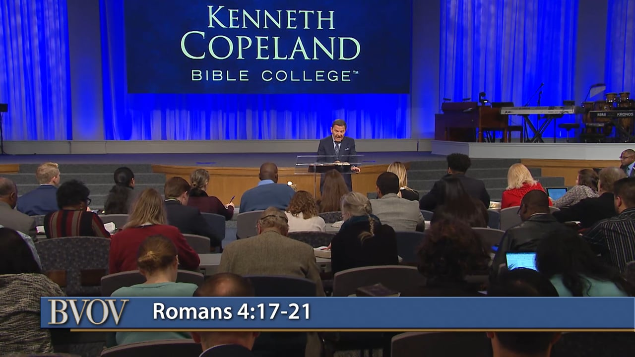 It's what you do in the trial that causes your faith to grow! Watch Believer's Voice of Victory as Kenneth Copeland teaches you the cure for unbelief. Fill up on The WORD of God, and count it all joy when you fall into trials and temptations. That's how to develop unstoppable faith!