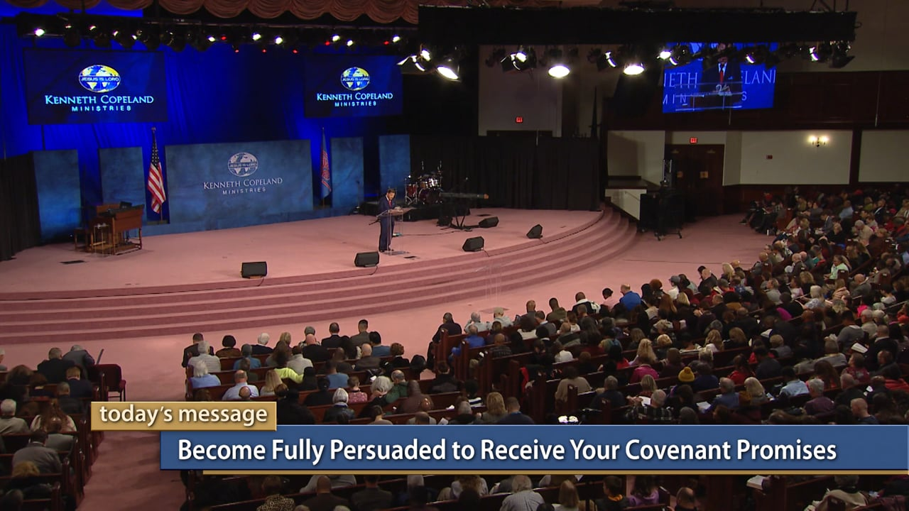 Just simple belief in God's covenant promises won't cause you to access them. Join Kenneth Copeland on Believer's Voice of Victory as he explains another key to receiving your covenant promises. Find out how to become fully persuaded and decide once and for all that what God said is what He will do!