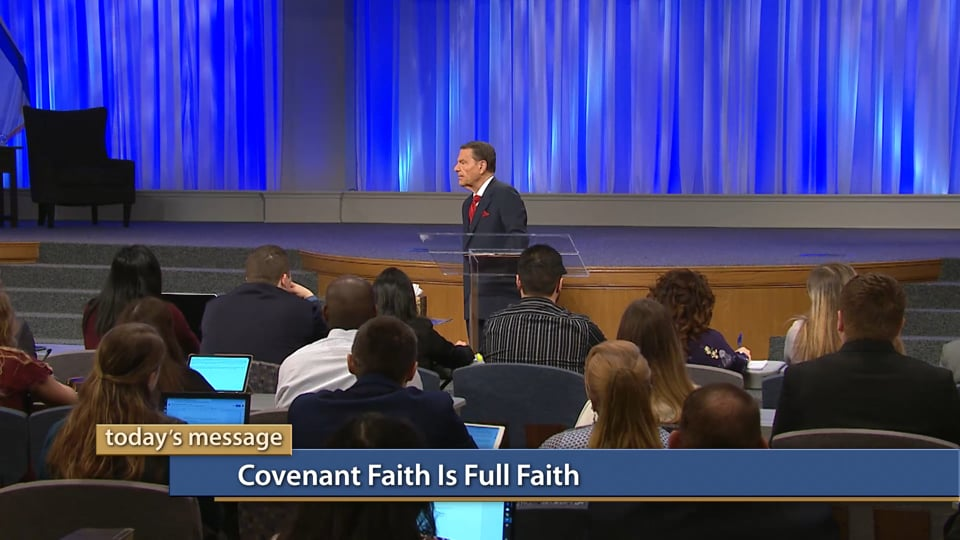 It's time to stop living a half-faith, half-unbelief life! Join Kenneth Copeland on Believer's Voice of Victory as he teaches you the importance of developing covenant faith. Learn how giving your full faith to God's promises to you will change every part of your life. Covenant faith is full faith!