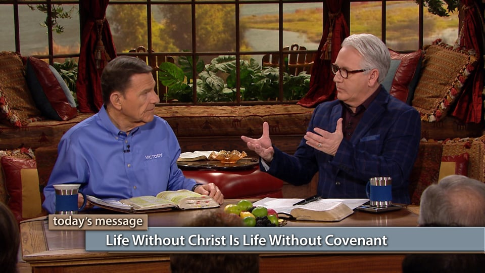 Are you pleading the blood of Jesus without knowing what you're really saying? Join Kenneth Copeland and Greg Stephens on Believer's Voice of Victory as they share why it's important to understand the redemptive power of the Name and the blood of Jesus. Life without Christ is life without covenant!