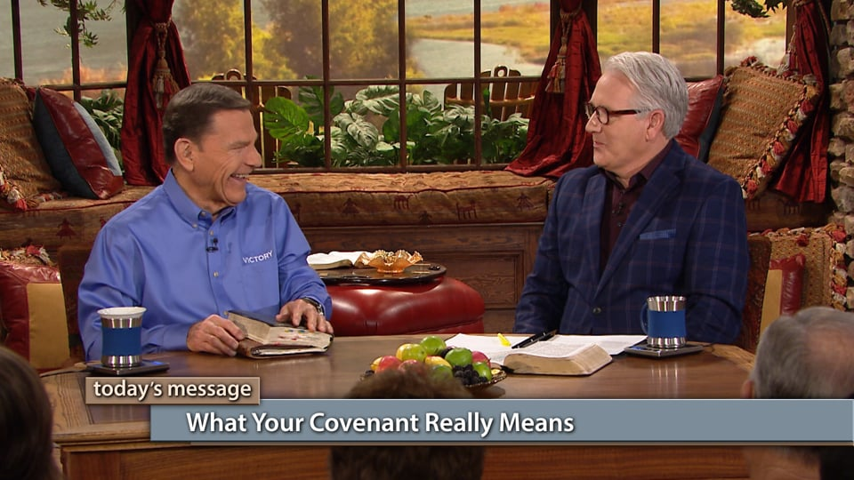 Journey back to the beginning to find out why the covenant you have today means more than you may think, in this Believer's Voice of Victory with Kenneth Copeland and Greg Stephens. When you understand what your covenant really means, it's the easiest thing in the world to prosper and be healed because of THE BLESSING.