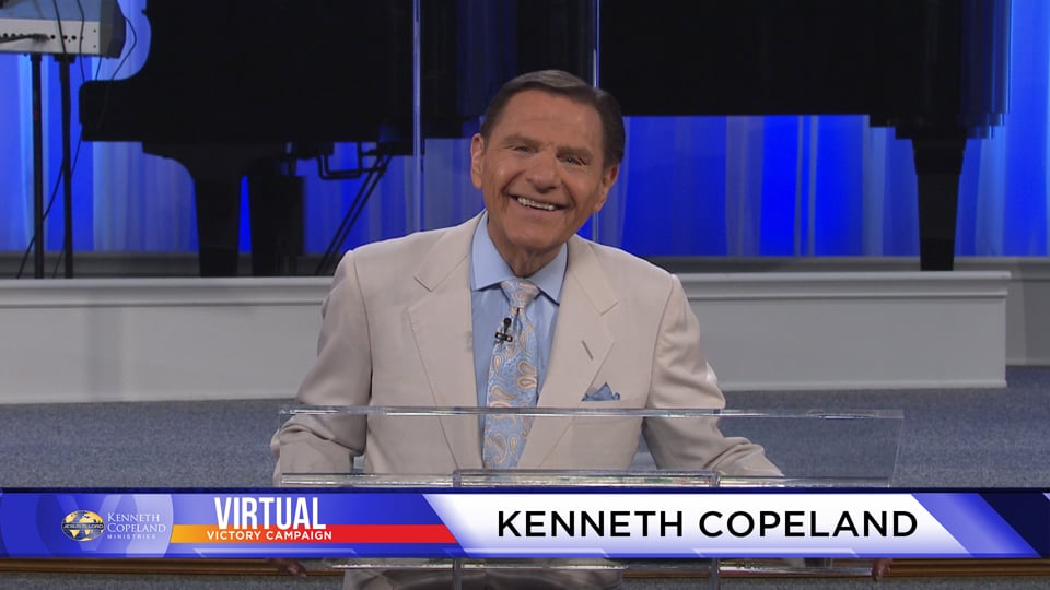 We are already in right-standing with God! At the 2020 Virtual Victory Campaign, Kenneth Copeland continues teaching about being the righteousness of God. He is not holding sins against us. Jesus bore them all. They were purged and when we become aware of it, there will be no more sin-consciousness.