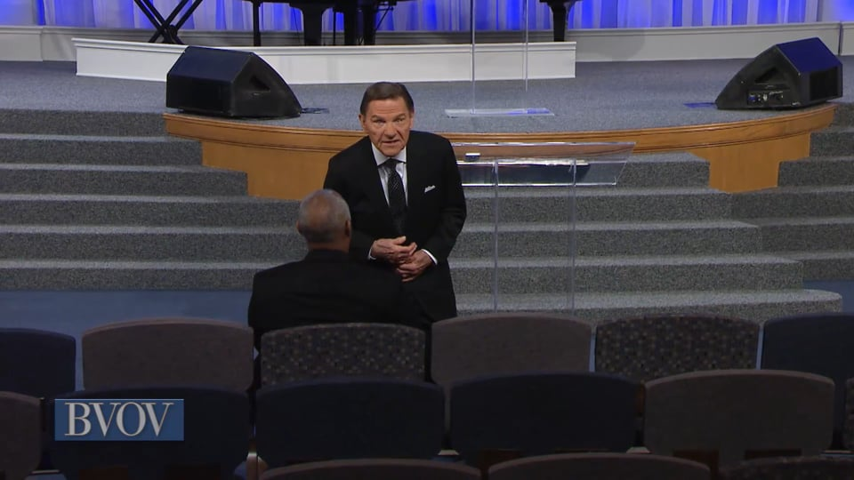 Join Kenneth Copeland on Believer's Voice of Victory as he explains why the battles you face do not belong to you. You have a promise of protection from El Shaddai. He will take down your enemies for you—but you have to believe by faith that the love covenant will fight for you.