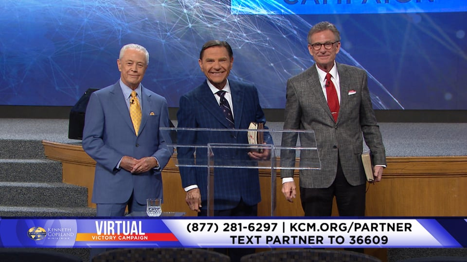 At the 2020 Virtual Victory Campaign Kenneth Copeland relates partnership to family. An invitation is given to be a part of this supernatural outpouring of God! Learn what ministries you are a part of as a KCM Partner. Every blessing coming to KCM for preaching the gospel comes equally to its Partners!