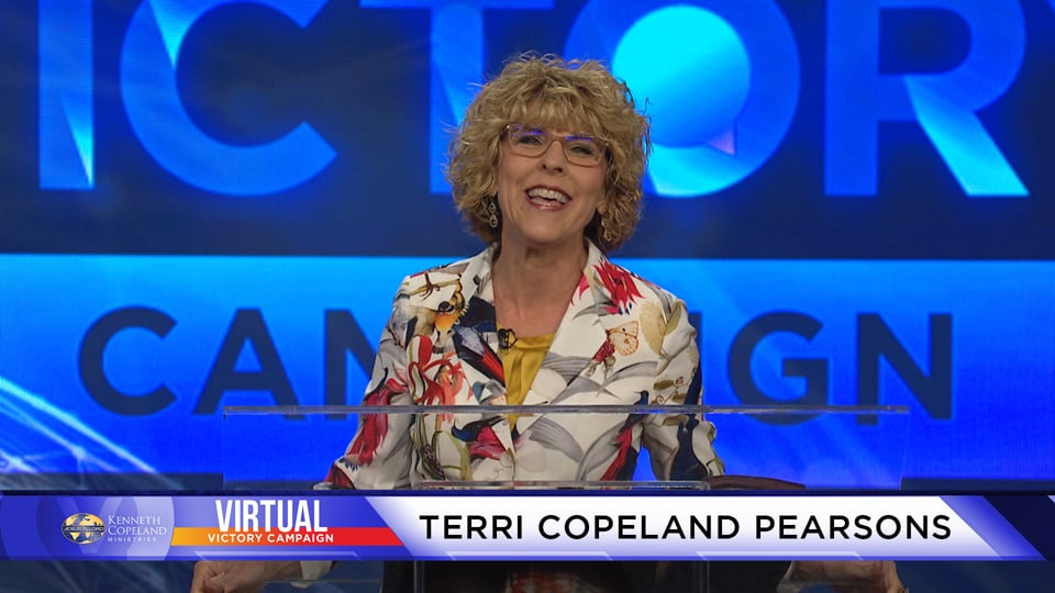Join Ps. Terri Copeland Pearsons at the 2020 Virtual Victory Campaign as she teaches about the supernatural grace that empowers us to do what God desires. That grace is dispensed to the Body of Christ through the fivefold ministry gifts and it results in us doing the greater works Jesus talked about.