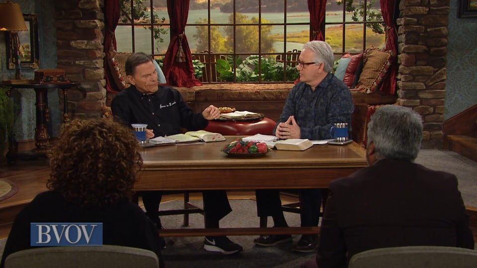 "Who do you identify with in the biblical account of Jesus' crucifixion? Join Kenneth Copeland and professor Greg Stephens on Believer's Voice of Victory as they discuss why it is so important to know how to identify yourself in terms of the new covenant. You weren't the guards or the people shouting, ""Give us Barabbas!"" Because of covenant, you are to identify with Jesus."