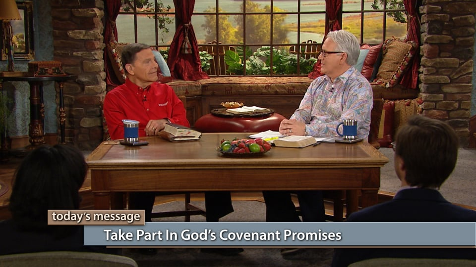 Join Kenneth Copeland and professor Greg Stephens on Believer's Voice of Victory as they discuss the major problem with the Body of Christ receiving and taking part in God's covenant promises. Learn why understanding that you are the righteousness in God through Christ Jesus is essential to partaking of all God has for you.
