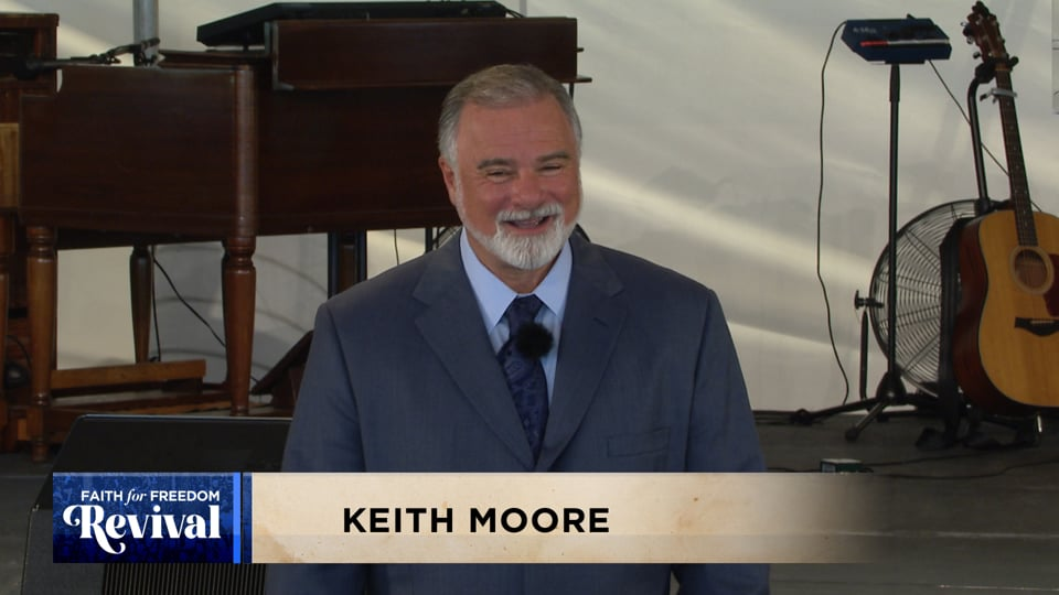 "Condemnation is the ""confidence killer."" Join Keith Moore at the 2020 Faith for Freedom Revival as he teaches how to recognize and resist condemnation and shame. If you're delivered from sin, you're delivered from condemnation. You may have been broken or scarred, but you are complete in Him—NOW!"