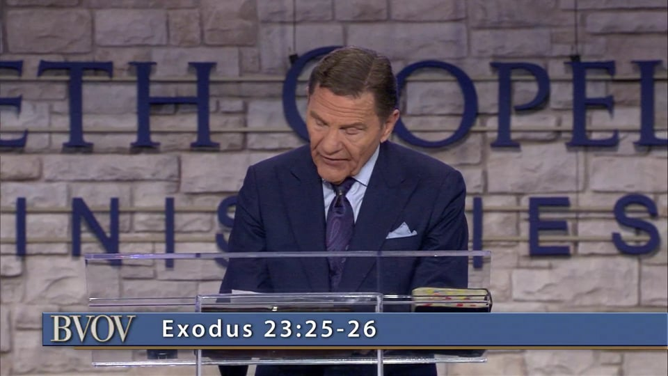 God is no respecter of persons and He never changes. Kenneth Copeland shares what God has said about healing and His desire to make you whole.