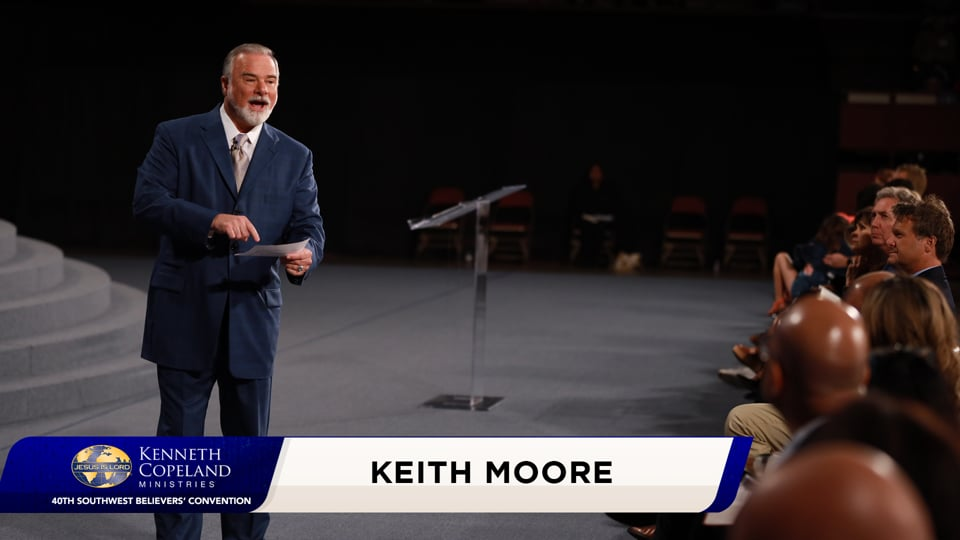The highest price ever paid for anything was paid for you! Only God determined your worth and only one thing was valuable enough to purchase you—the blood of Jesus! At the 2020 Southwest Believers' Convention, Keith Moore shares how there are many channels, but only one Source and how to trust only God!