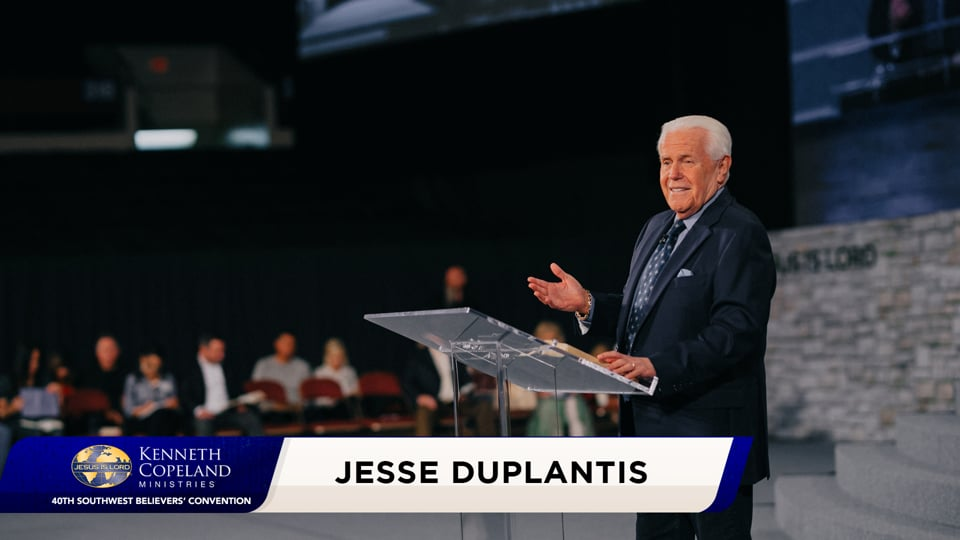 "At the 2020 Southwest Believers' Convention, Jesse Duplantis teaches three ways to know when the gospel becomes ""your"" gospel. Do you have a religious experience with God or a personal one? The gospel is a message from Father God to His children, a relationship. It is God's chosen Word for the world!"