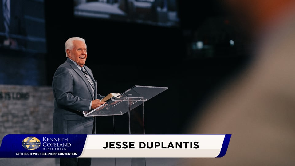 If you are looking for a more convenient opportunity, you will lose the one nearest to you. Join Jesse Duplantis 2020 Southwest Believers' Convention as he shows how to recognize Spirit-led opportunities to be a blessing to others. Have you ever wondered why you are here on Earth? To do good to people!