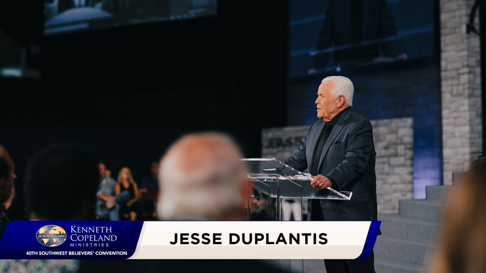 Faith is the womb where expectation takes its first breath! Join Jesse Duplantis 2020 Southwest Believers' Convention as he exhorts the believers to open their eyes. Great expectation is knowing that there are more with you than with them and it gets great results! Supernatural perspective creates peace!