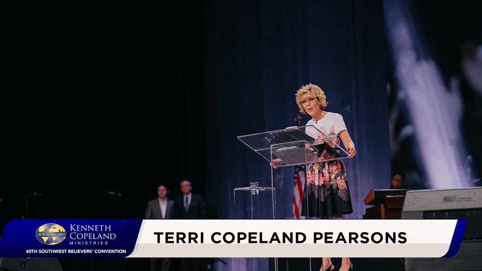 Be not disturbed by the strife in the world! At the 2020 Southwest Believers' Convention, Terri Copeland Pearsons shares that God has a plan! He will use it and heaven and earth will come together. In loving each other, the world will awaken to God. He sees no faults in us. Neither should we see them in others!