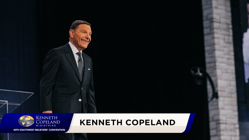 """At the 2020 Southwest Believers' Convention, Kenneth Copeland emphasizes the goodness of God. Mark 10:30 says, """"He shall receive an hundredfold now in this time, houses, and brethren, and sisters, and mothers, and children, and lands…."""" Seed, time and harvest is His plan for abundance. He never forgets a seed!"""