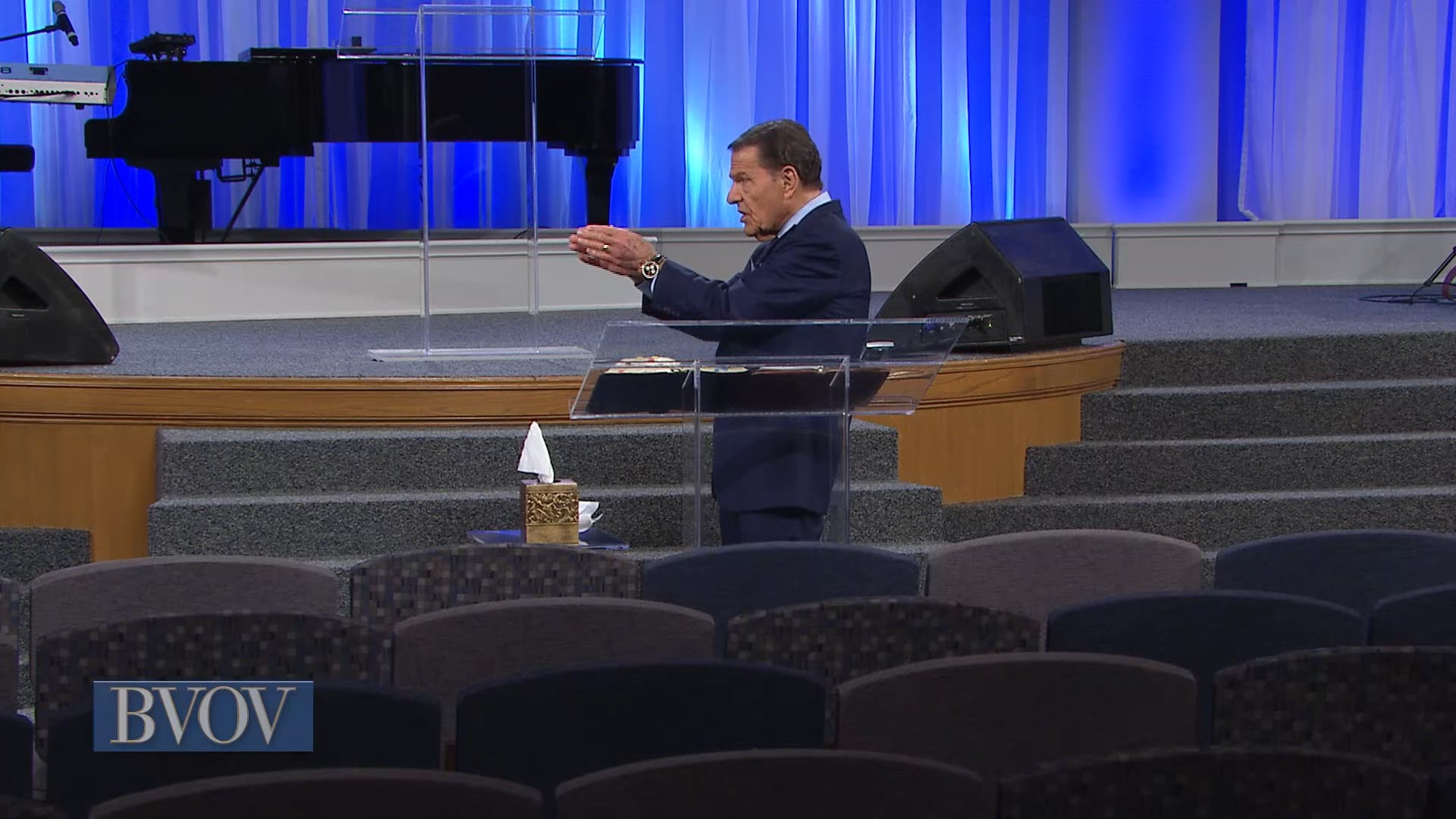 Today on the Believer's Voice of Victory, Kenneth Copeland shares out of Romans 4:17, the key to life…calling those things that be not as though they were.  Learn how to receive by faith the things Jesus has provided for you and call God's promises into every area of your life.