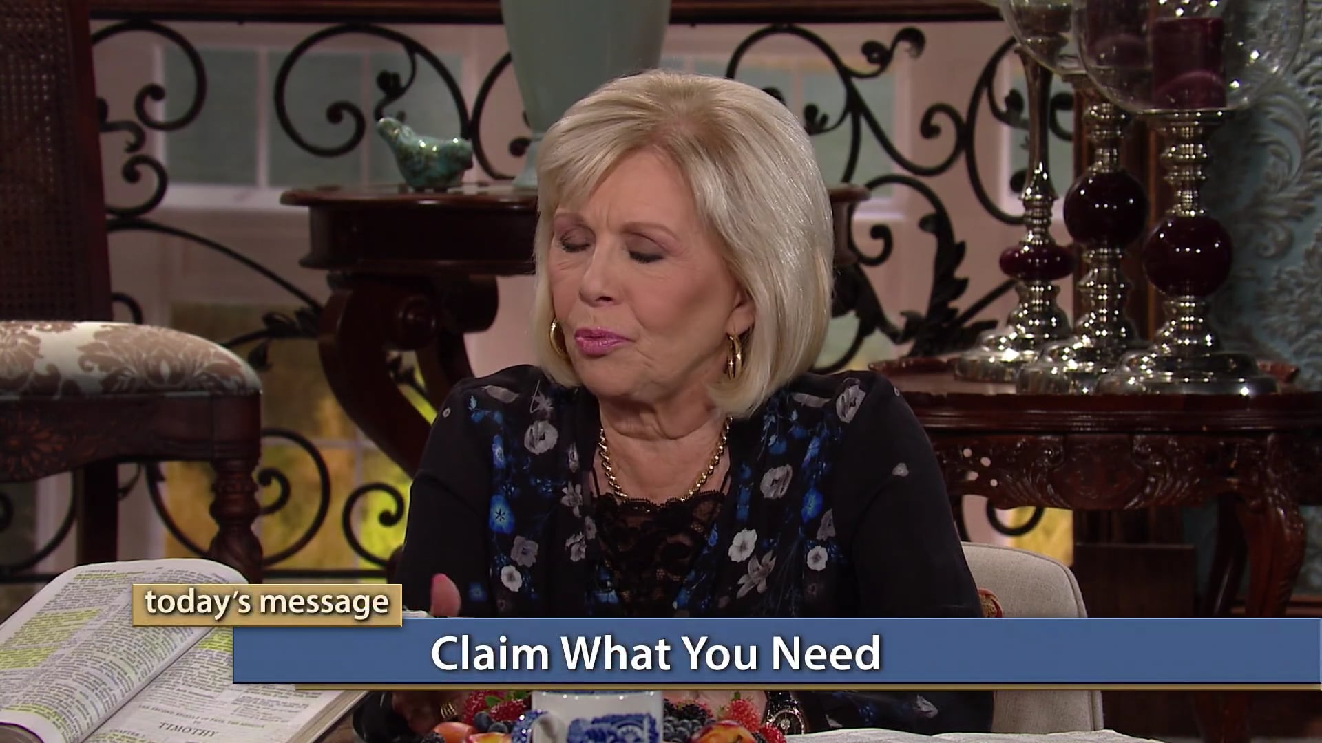 Should you wait for God to bring blessings to you? Find out on Believer's Voice of Victory as Gloria Copeland and George Pearsons share the importance of learning to claim what you need in cooperation with His will for you to be blessed. Don't beg and plead—claim what you need and receive God's abundant provision!