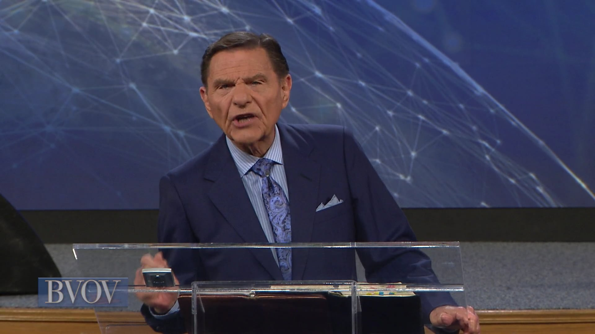 Where there is strife, there is confusion and every evil work. Today, on Believer's Voice of Victory, Kenneth Copeland teaches you how to take your stand on The WORD of God and bring peace and unity to your home, city and nation. God is greater than the strife.
