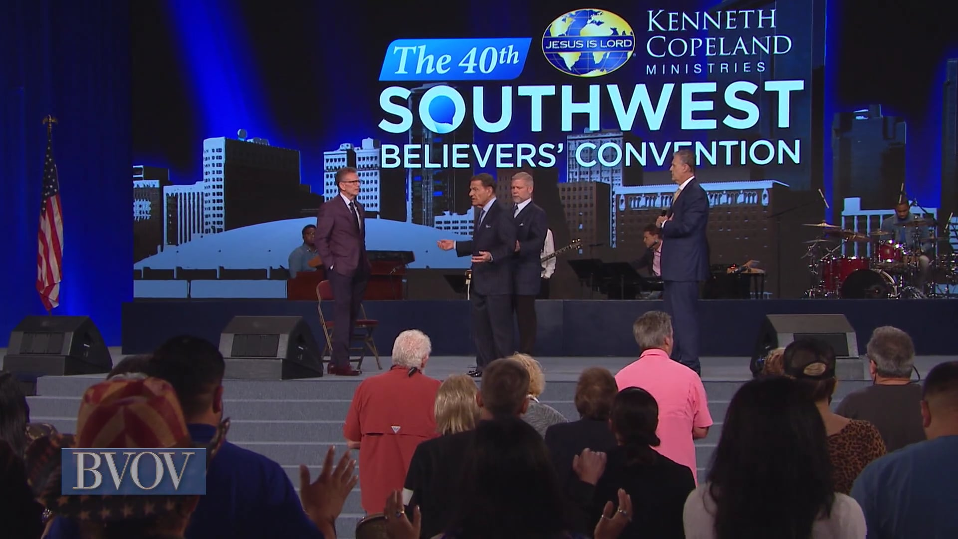 Get ready to shout! Watch Believer's Voice of Victory as Kenneth Copeland leads you in a victory shout over every attack on your mind and body. It's time to shout your victory over sickness, and take your healing. The healing glory is here!